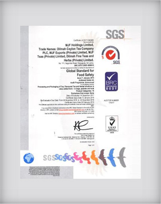 BRC Certification 2018