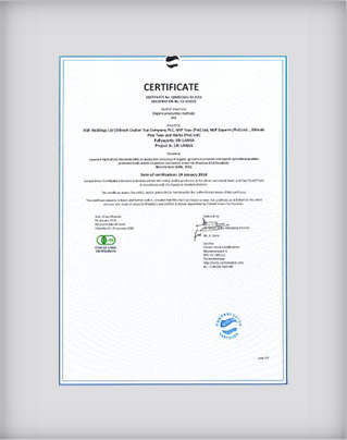 Japanese Agricultural Standard of Organic Agricultural Products (JAS) Certification