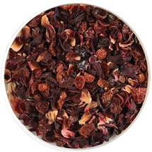Natural rosehip with hibiscus infusion by MJF Exports